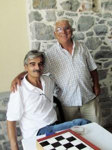Δημήτρης Δέδες και Θεόφιλος Πατσάς, το πρώτο ζευγάρι που κληρώθηκε