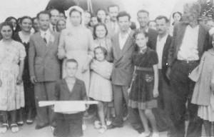 Γάμος Ιωάννου και Δέσποινας Μούντριχα, Κρεμαστός 1951