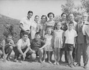 Ιωάννης και Δέσποινα Μούντριχα με τα παιδιά τους