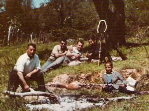 Γλέντι στη Μονή Κλιβάνου, Πρωτομαγιά 1964