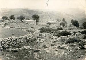 1960 Πάνω Αλώνια, το σπίτι του Αγροφύλακα Ευάγγελου Σπυρόπουλου
