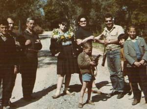 Γλέντι στη Μονή Κλιβάνου, Πρωτομαγιά του 1964