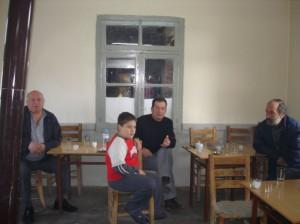 Χρήστος Γλάρος, Κωνσταντίνος και Γιάννης Δούνας, Παναγιώτης Ρέτσας