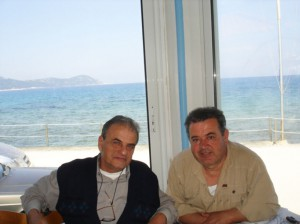 Γιώργος Μπουλουξής, Στέλιος Καραμουζάς