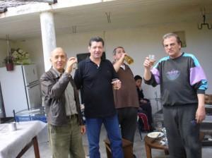 Κώστας Μούντριχας, Βασίλης Μούντριχας, Κώστας Δούνας, Γιώργος Μπουλουξής