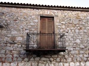 Παραδοσιακή βεράντα