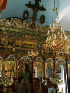 Το τέμπλο στην εκκλησία του Αι-Γιάννη
